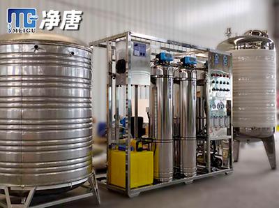 口罩厂/医疗器具清洗用纯化水设备